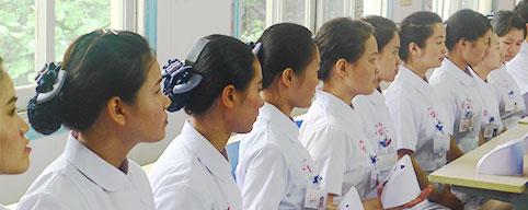 康达举行护理操作表演赛喜迎护士节