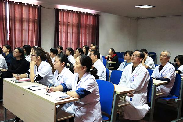 湘雅二医院郝伟教授在湖南康达自愿戒毒中心开展专题讲座
