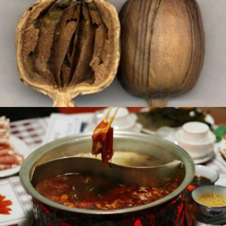 罂粟壳与添加了罂粟壳的火锅